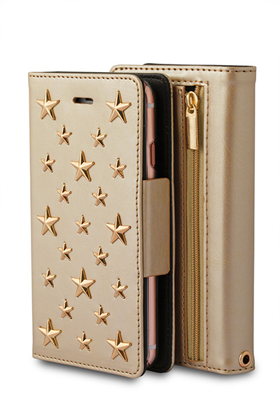 607W Stars Case Wallet for iPhone6s/6